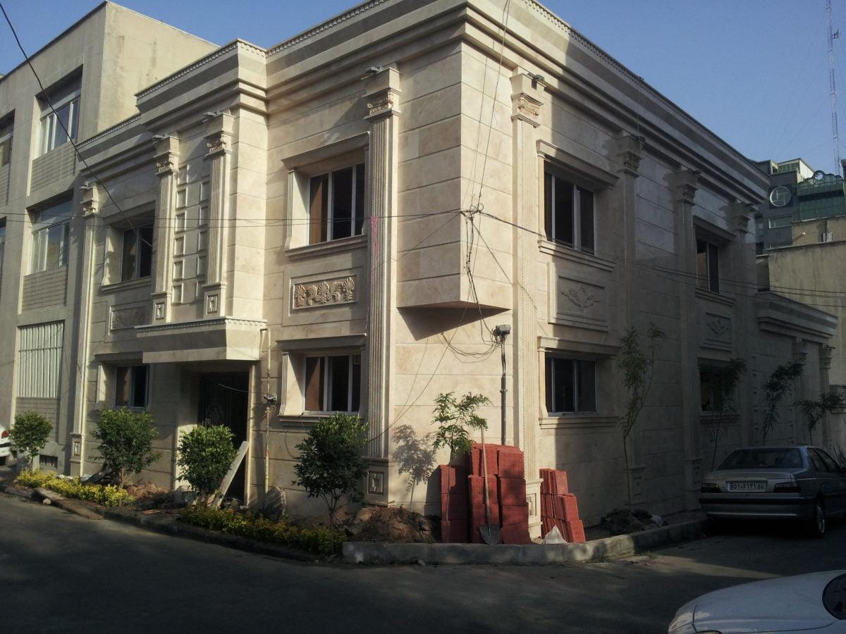 بازسازی ساختمان شمال تهران