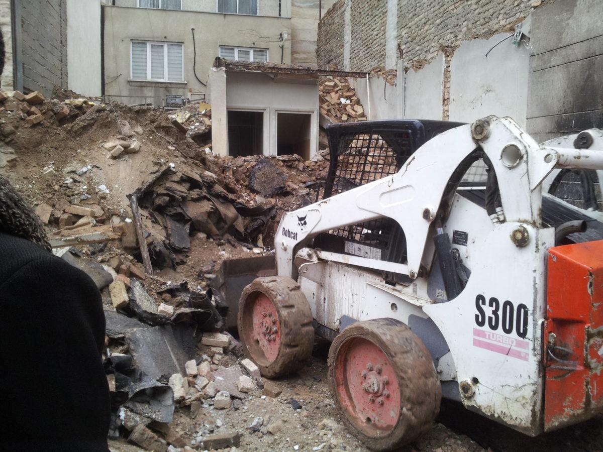 تخریب و نوسازی ساختمان شمال تهران